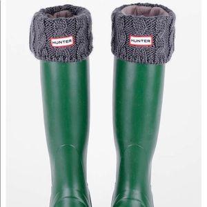 Hunter Gray Swearer Welly Socks
